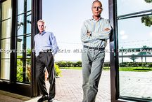 corporate portraiture duo