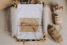Invitations / Zaproszenia, kartki, menu, listy
