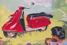 vintage scooters