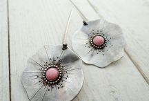 Jewelry (Earrings with gemstones)