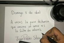 Frases de Juan pablo silva