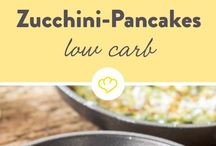 Zucchini Low-Carb-Pancakes