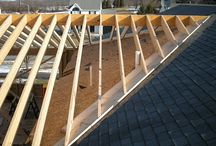 Overframe porch roof