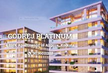 Godrej Platinum Kolkata / Godrej Platinum Kolkata is a Luxurious Project Located in Alipore by Godrej Properties, Buy 4 BHK luxury apartments with 35 limited edition, ready to move in luxury residences.