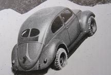 kupla ja vanhat vw- ja muut vekottimet / Kupla beetle käfer bubbla