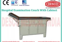 Examination Couch With Cabinet Suppliers India / http://www.medicalhospitalfurnitures.com/Product/examination-couch-with-cabinet/61