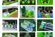 {party planning} Minecraft party ideas