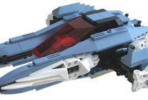 Lego Raumschiffe