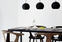 light dinner table