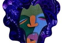 David Cowles Blues/Rock Illustration