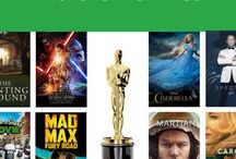 2016 Oscar Nominees / The Academy-Award nominated films for 2016, with our Common Sense reviews of each!  / by Common Sense Media