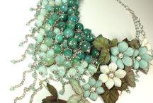 biżuteria z foamiru i zimnej porcelany
