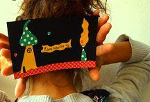 Handmade Postcards.