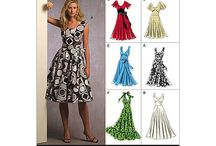 Sewing: Plus Dresses / Patterns for sewing plus sized dresses / by Nancy Nally