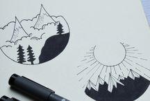 ~ Drawings & illustrations