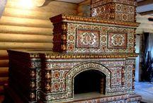 Kachel / Изразцовые печи, камины и все что связано с керамикой.