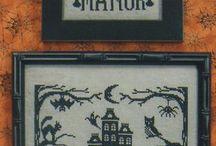 Gothic cross stitch