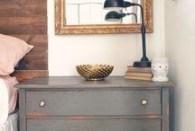 Dresser and Night Stand Ideas / by Amanda Cheyenne