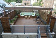 Garage roof ideas / Roof decks