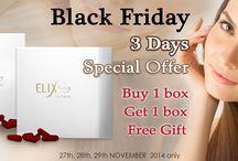 BLACK FRIDAY SPECIAL OFFER / BLACK FRIDAY : ELIX AURA, SHEEP PLACENTA BUY 1 GET 1 BOX FREE GIFT, SWISSOATS, PLANT PLACENTA BUY 1 GET 1 BOX FREE GIFT