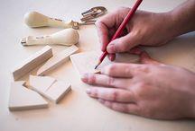 Trabajando/Working / Trabajando en mi primera colección de manteles/Working on my first collection of tablecloths