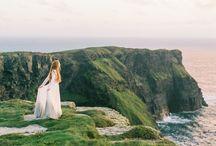 Windswept Ireland / Cliffs of Moher Dunluce Castle