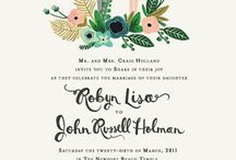 Invitation & Guest Book