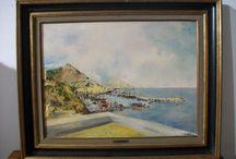 PITTORE GENOVESE G. BOTTINI / Olio su tela , veduta di porto, primo '900 misure con cornice cm. 77 x 61,5 . il dipinto è firmato www.antichitapietrolupi.com E-mail pietrolupi@libero.it PADOVA - ITALY