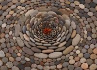 Dekorace z kamene, betonu