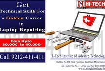 Join Hi-Tech laptop repairing course in new Delhi
