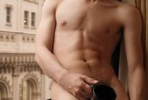 Men with coffee / Hot men and hot coffee