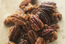 PECAN LOVERS / Pecans are rich in anti-oxidants, protein, fiber, vitamins and minerals. They help protect the body against heart disease, cancer and other diseases. Georgia is the #1 pecan-producing state in the U.S. And... oh yeah... they're delicious!!! So do your body good and grab a handful! / by Linda Luttrell