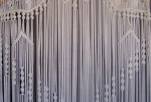 curtain - macrame