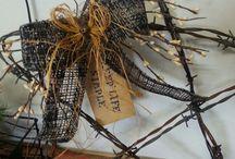 Barbwire crafts