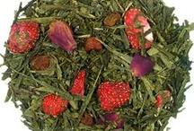 Herbaty z dodatkami / Pyszne, aromatyczne herbaty z dodatkami w postaci kwiatów, owoców i innych.