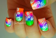 Tropical nails inspirations