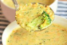 Broccoli Cheese Soups