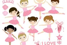 Desenho bailarina