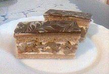 recepty dorty zákusky