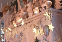 Shabby Christmas / Ideas for Christmas decoration in shabby chic style