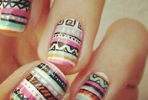 Nail colours and nail art