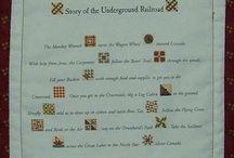 Quilts - Underground Railroad / Quilts