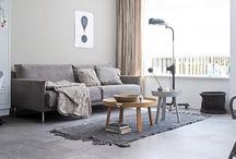 grey tile floor