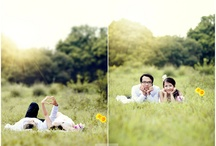 Photography Ideas - Engagement - Outdoors / engagement photo ideas in a field, woods, or creek