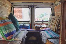 house styling hippie van