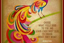 Words of wisdom by Abraham Hicks