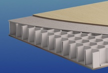 {New Materials} Thermhex / Thermhex is an innovative sandwich panel which has the unique ability to increase strength at a reduced weight, due to its Polypropylene (PP) Honeycomb core.  As a result, ThermHex is rapidly becoming the material of choice for many varied applications here in the UK including automotive, truck bodies, the marine industry, OEM, industrial equipment and caravan markets, plus many more.  More information can be found at www.thermhex.co.uk