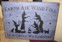 ☆earth air wind fire in a circle we conspire☆