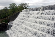 Okmulgee Lake Spillway / Pictures of Spillways