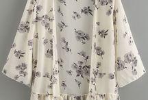 kimono bawah renda